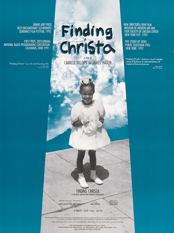 Film poster for the documentary Finding Christa