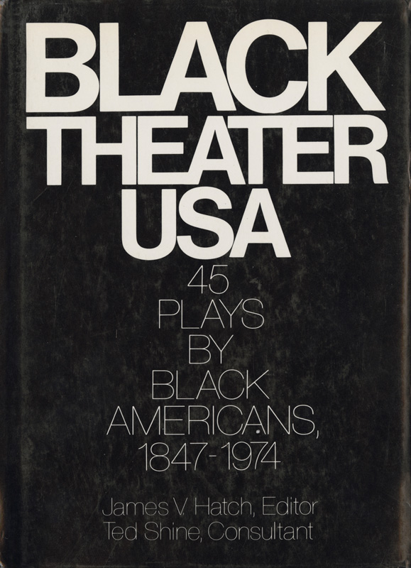 Black Theater USA, book cover