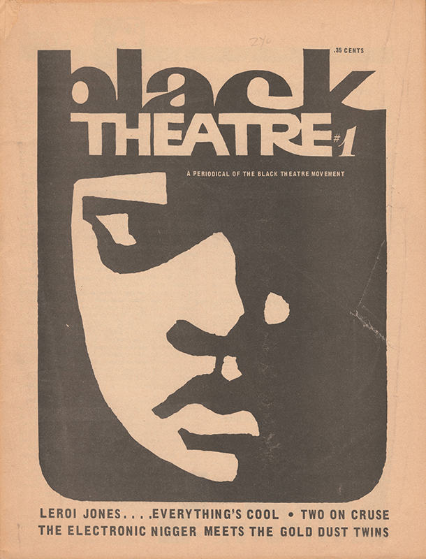 Black Arts Theater Magazine cover